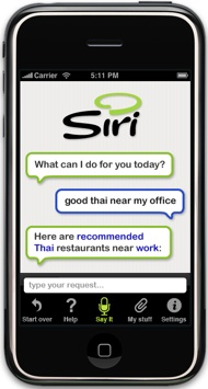 Siri for iPhone