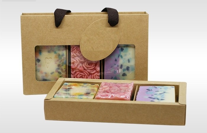 Soap Packaging for Promoting Antioxidant Peony Bar
