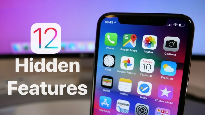 Best Features of iOS 12 you should know that.