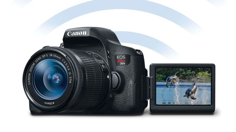 DSLR Cameras with Wifi Capabilities