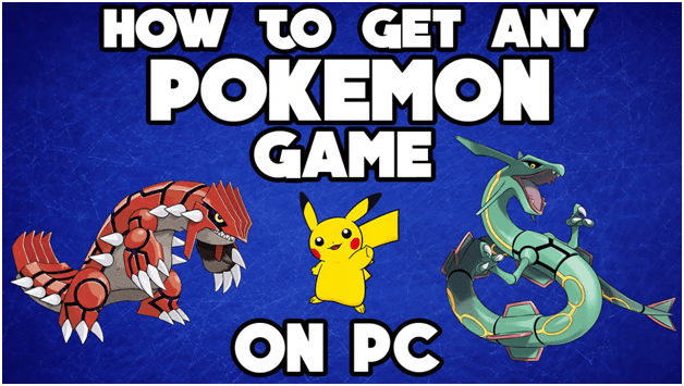 How to play Pokemon games on PC