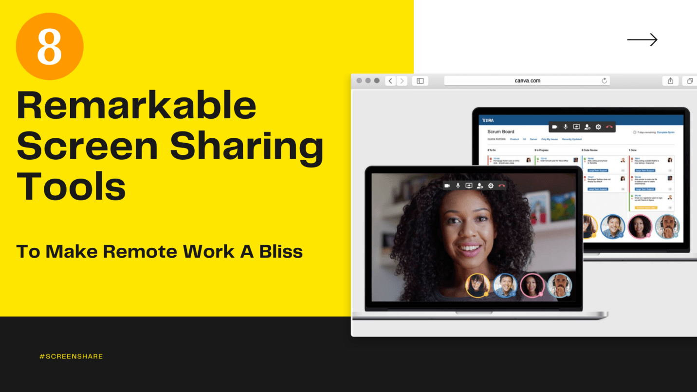 8 Remarkable Screen Sharing Tools To Make Remote Work A Bliss