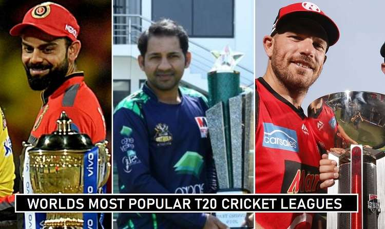 List of Top 5 Best T20 Cricket Leagues in the World