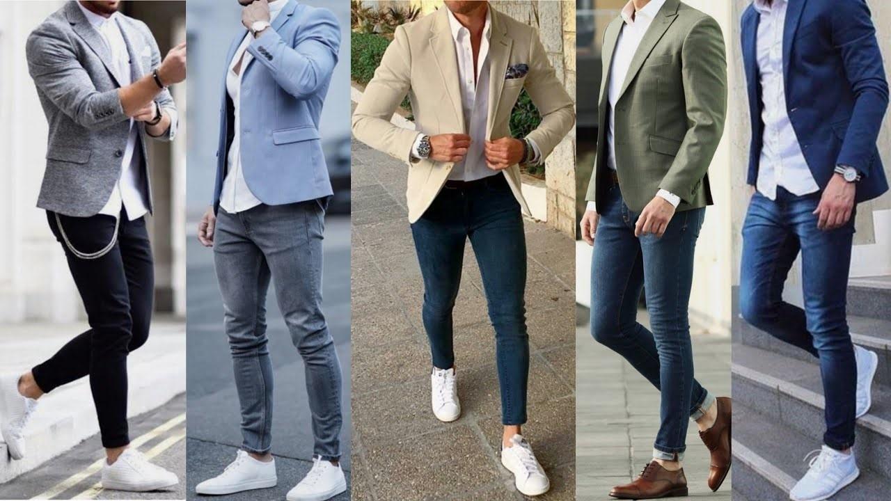 How to Wear a Blazer Jacket with Jeans