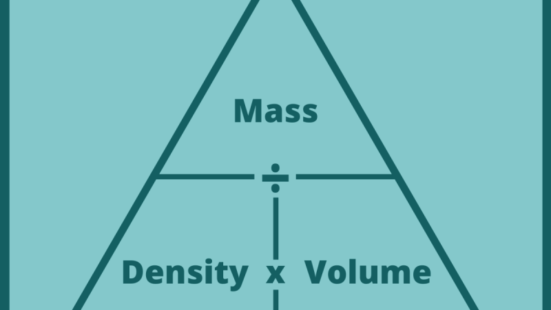 density and mass