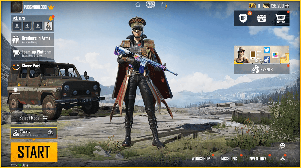 Top 10 PUBG Mobile Weapon Skins