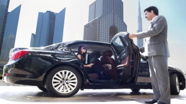 Chauffeur in Dubai