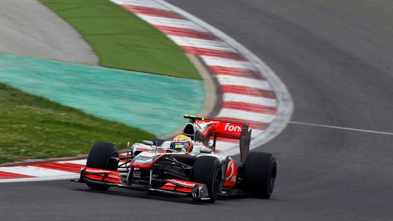 Lewis Hamilton's 2010 Race Winning F1 Car to Be Auctioned