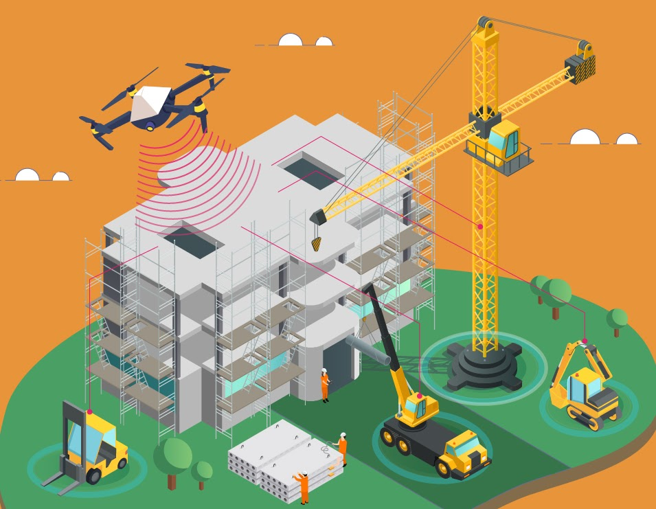 5 Ways Drone Technology is Revolutionizing the Construction Industry