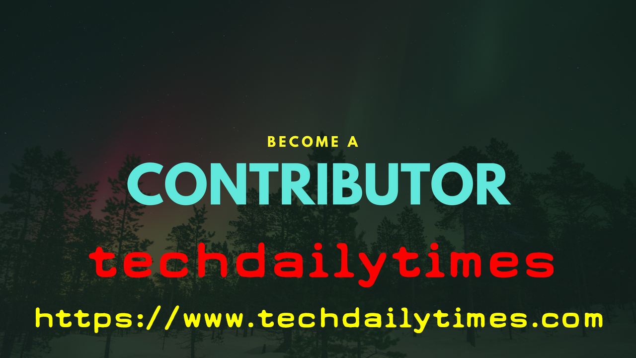Become A Contributor on Techdailytimes