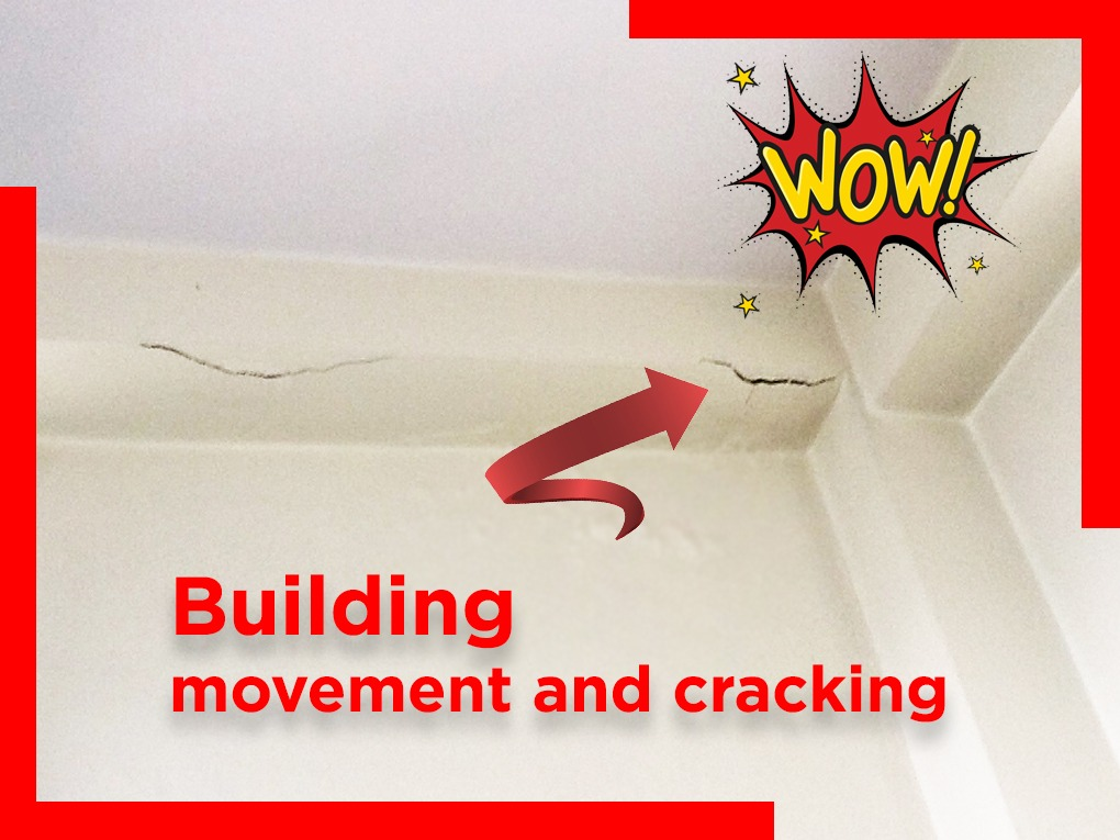 Building movement and cracking