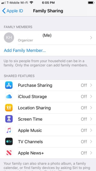apple ios screenshot