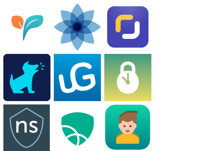 Parental controls apps icons techdetoxbox.com