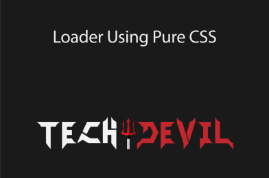 Loader Using Pure CSS