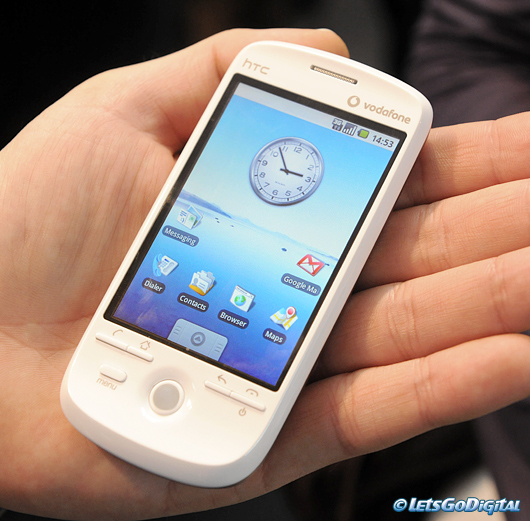 """HTC Magic (a.k.a the """"G2"""") lan..."""