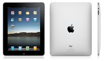 iPad front and back