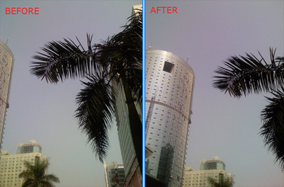 Image result for telephoto lens before and after