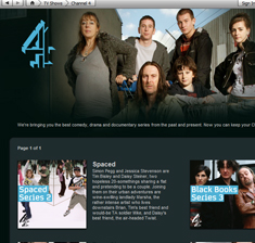 Fancy downloading Spaced, Peep Show and Skins on iTunes? Channel 4