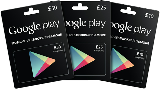 Google Play Store Card Online Kaufen