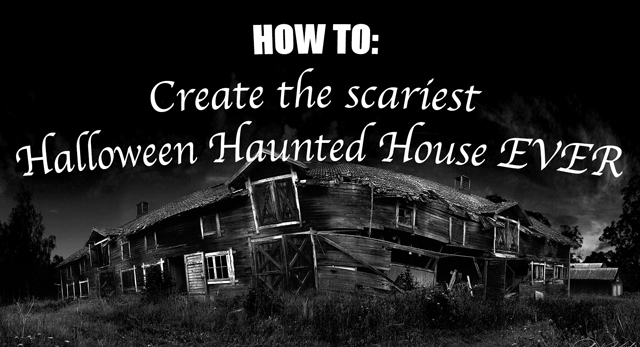 HOW TO Create The Scariest Halloween Haunted House EVER! Tech