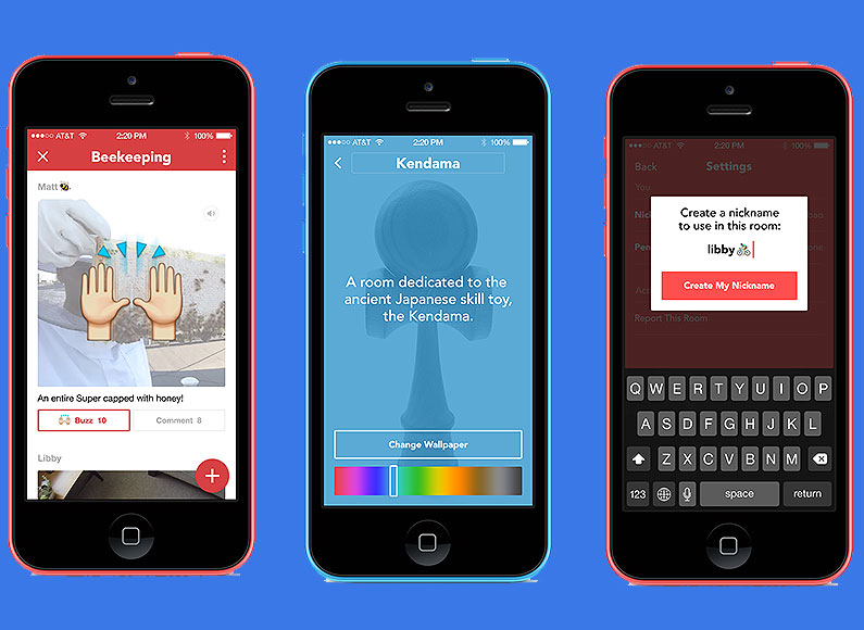 Facebook Launches New Chatroom App Funnily Enough