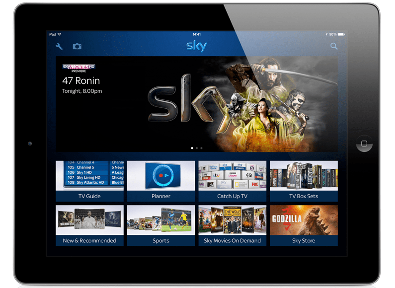 Sky now lets you beam your photos to the TV - Tech Digest
