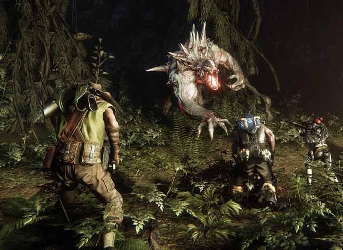 evolve-video-game-screenshot-hunter-versus-goliath-beast