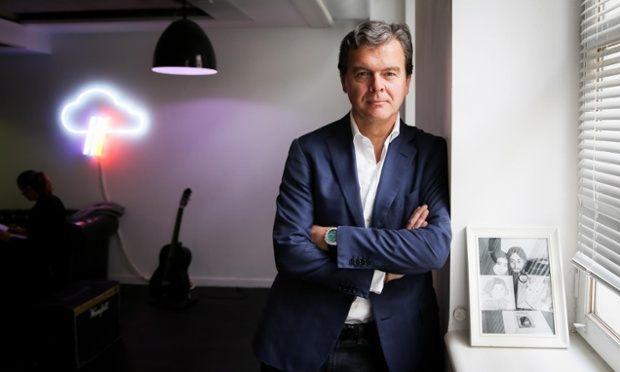 Deezer CEO Hans-Holger Albrecht-