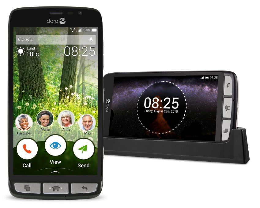 The Doro 825 - an intuitive smartphone for the elderly