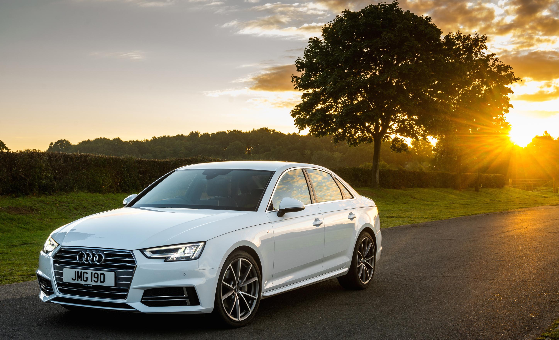 Audi A4 White