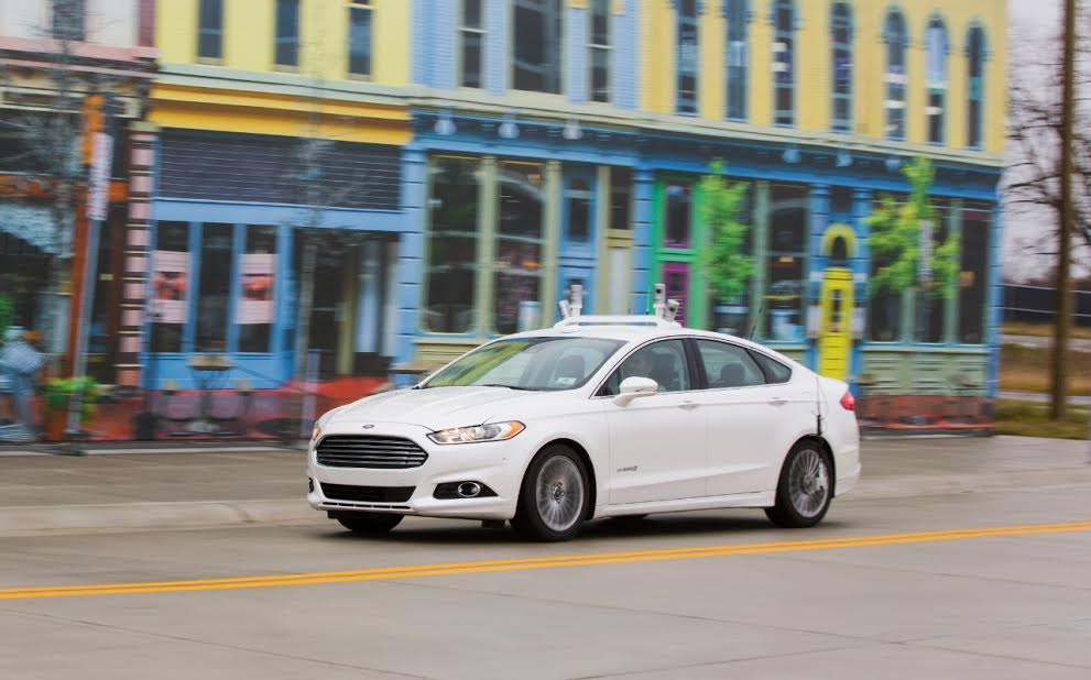Ford has become first manufacturer to test drive autonomous vehicles at Mcity