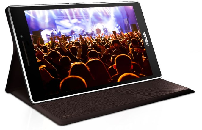 The optional audio cover adds surround sound to the ZenPad. But it will set you back £69