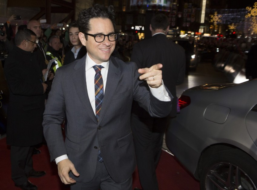 LONDON, UK - DECEMBER 16: Director JJ Abrams attends the European Premiere of the highly anticipated Star Wars: The Force Awakens in London on December 16, 2015.