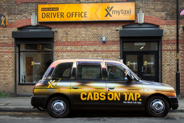 mytaxi driver office, Great Suffolk Street, London