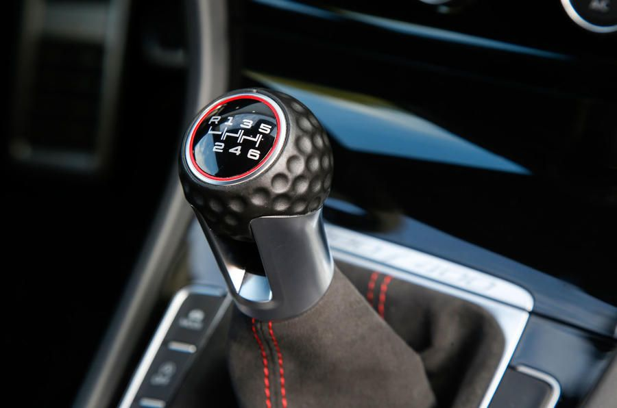 Top 10 car features including golf ball gear knob and Skoda