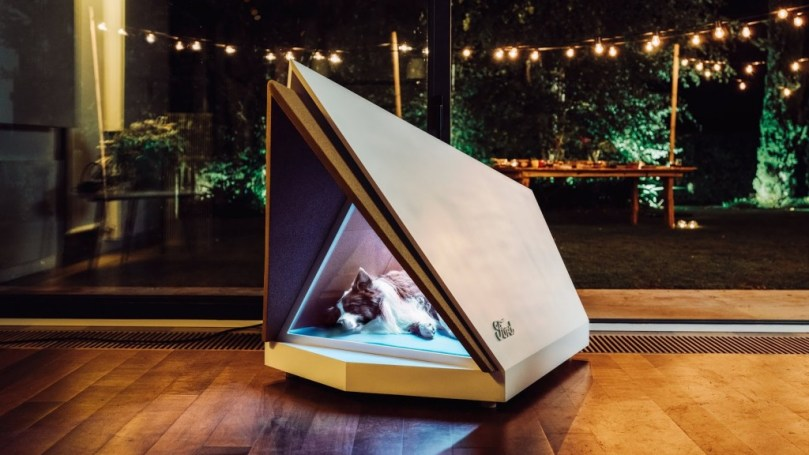 - kennels 1024x576 - Ford develops 'smart kennels' to keep dogs relaxed during fireworks