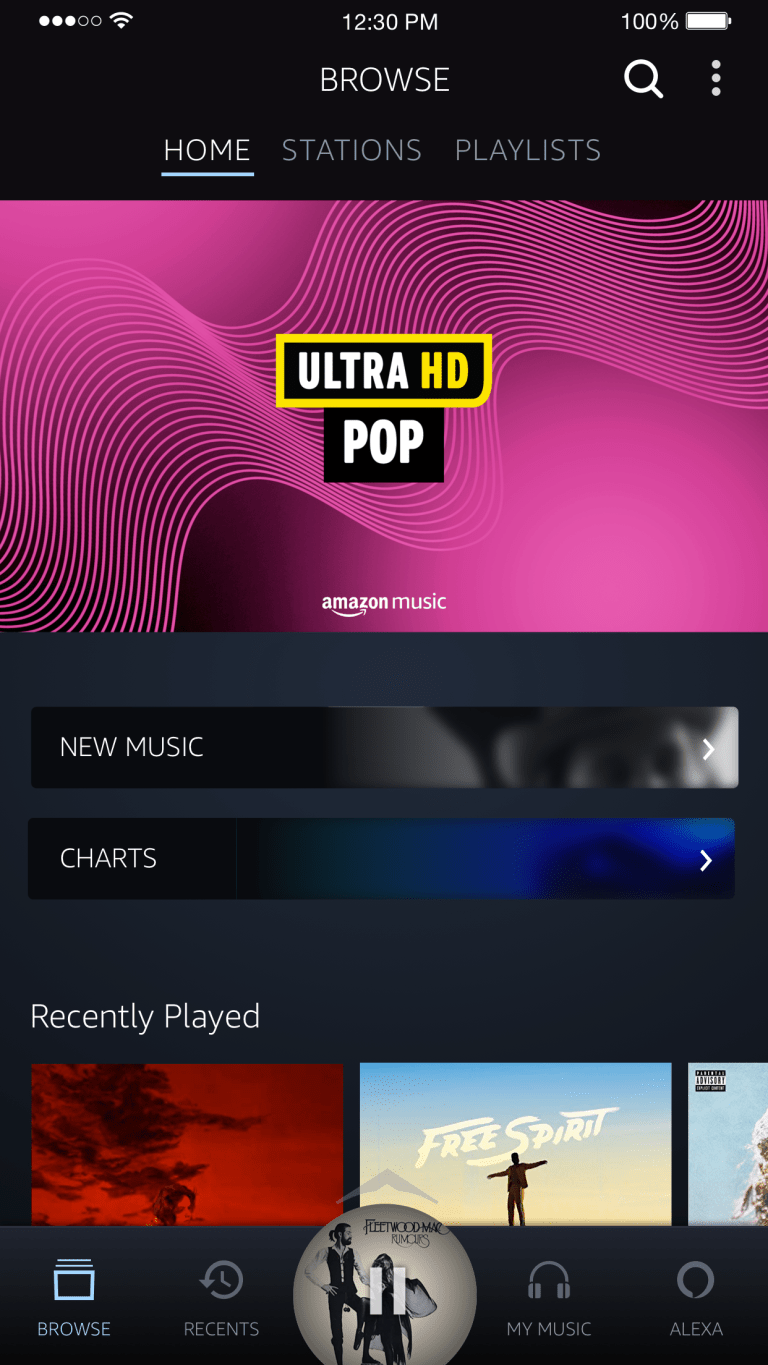 Amazon Music introduces HD audio option