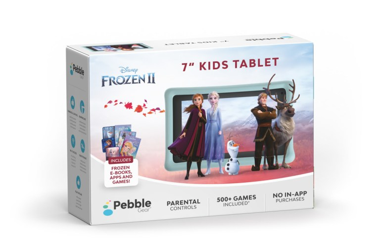 Pebble Gear announces Frozen II and Toy Story 4 kids' tablets