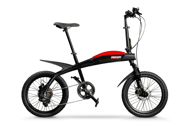 Ducati announces three new folding e-bikes