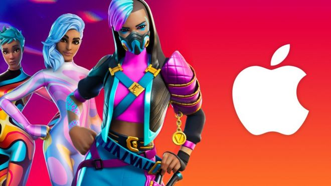 Fortnite takes bite out of 'rotten Apple' in 1984 parody
