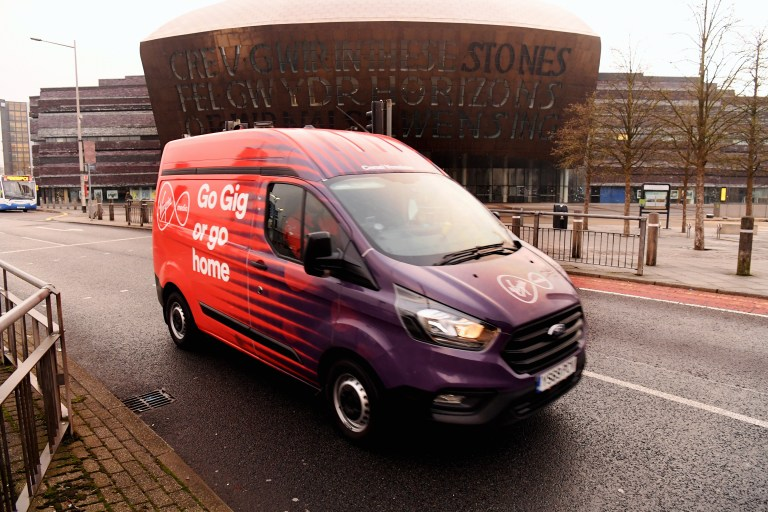 Virgin Media switches on Wales' fast home broadband