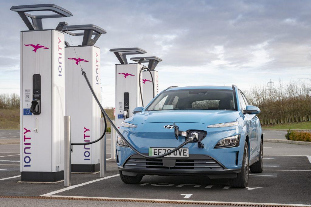 Hyundai charging