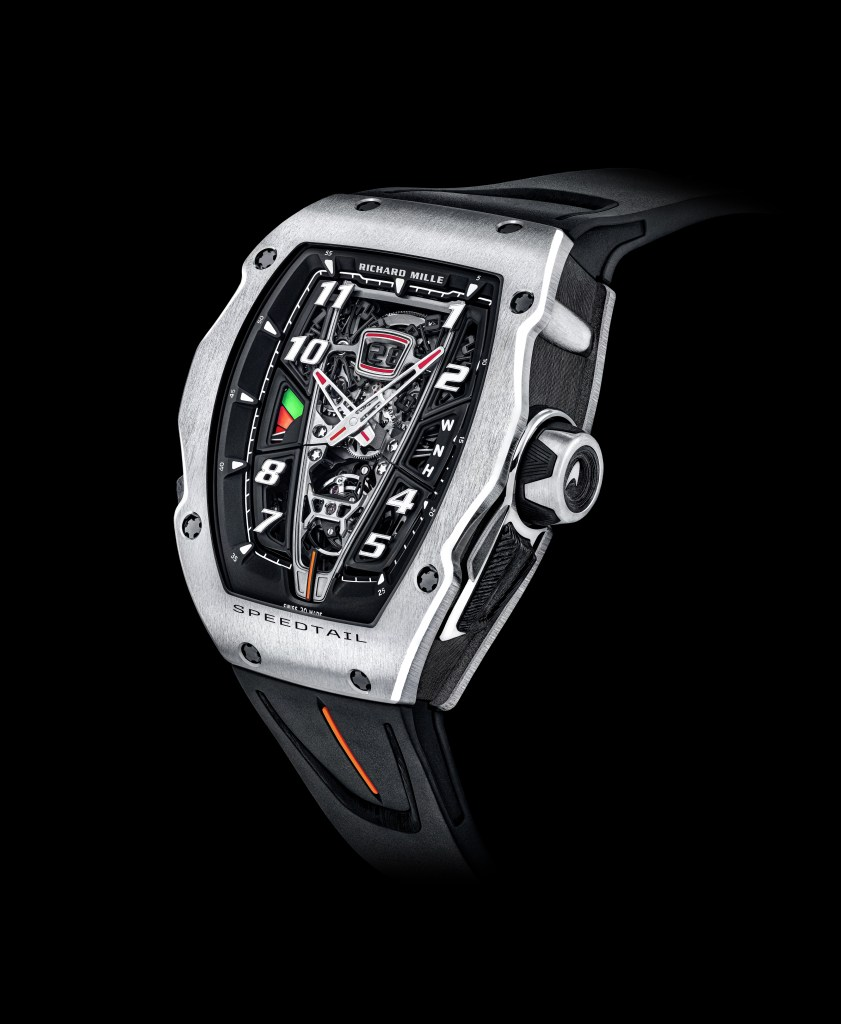 Richard Mille and McClaren collaborate on Speedtail watch