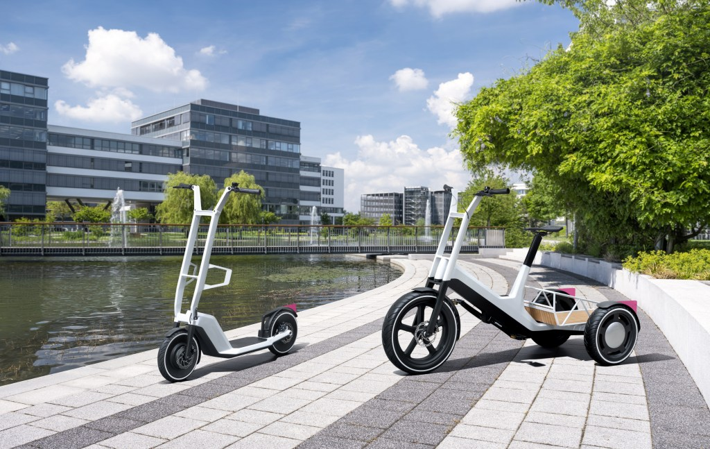 BMW unveils e-trike and e-scooter concepts
