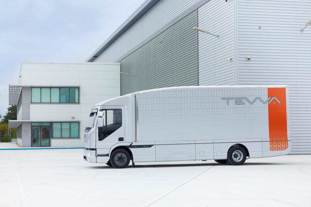 Tevva unveils British 7.5 tonne electric truck