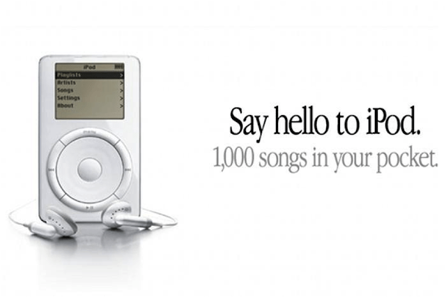 Memory Lane: 20 years since the Apple iPod launched