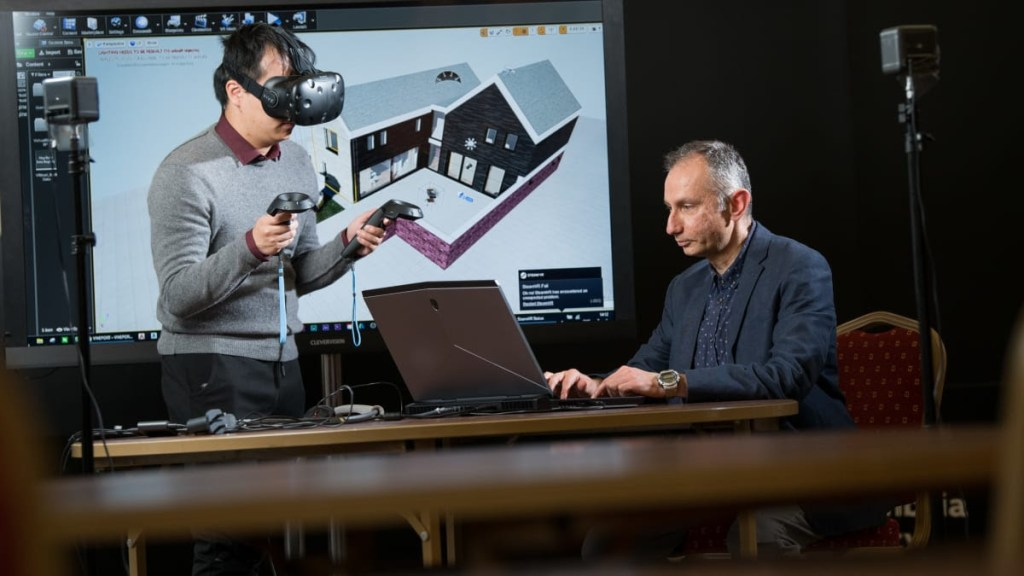 Virtual reality tool to measure carbon emissions on display at COP26