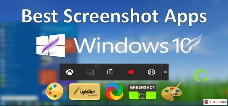 best screenshot apps for windows