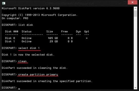 Microsoft DiskPart | Disk Selection