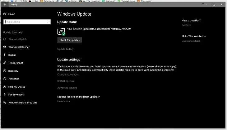 6.Windows Update
